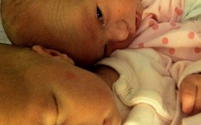 20110922 – Ainsley and Isla Together
